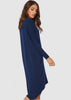 Bamboo Catherine Dress - Navy