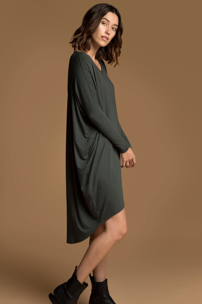 Bamboo Catherine Dress - Forest