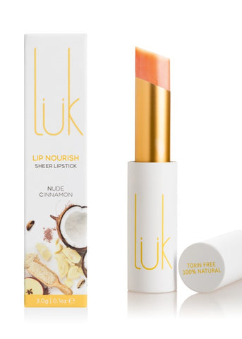 Nude Cinnamon Lip Nourish - 100% Natural