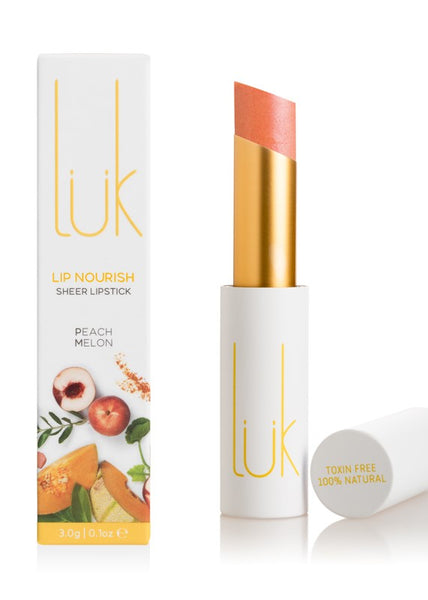 Peach Melon Lip Nourish - 100% Natural