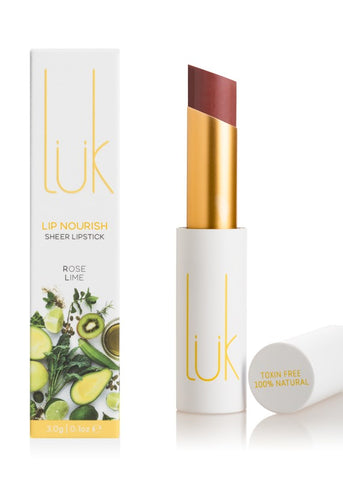 Rose Lime Lip Nourish - 100% Natural