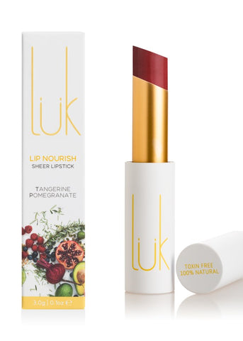 Tangerine Pomegranate Lip Nourish - 100% Natural - Lip Nourish - Body - FOX AND SCOUT