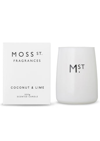 Moss St Candle - Coconut & Lime