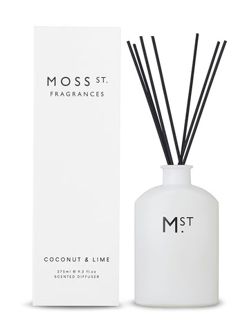 Moss St Diffuser - Coconut & Lime