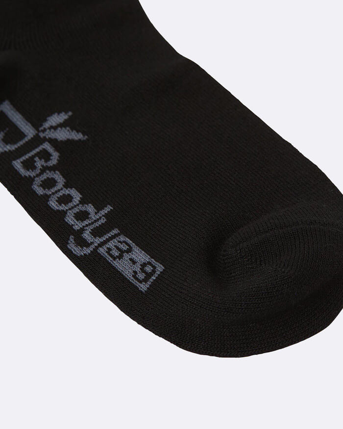 Bamboo Low Cut Socks - Black - Boody - Socks - FOX AND SCOUT