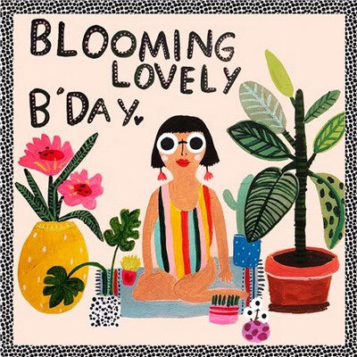 Blooming Lovely Birthday - Blank