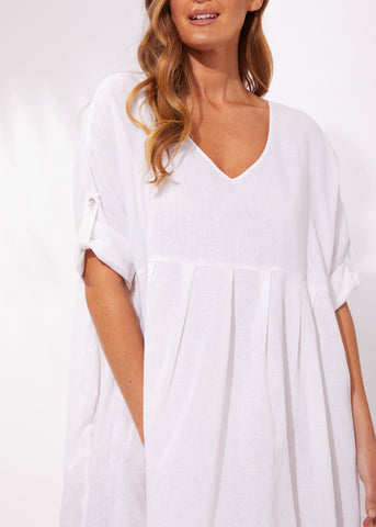 Cuban Top / Dress - White
