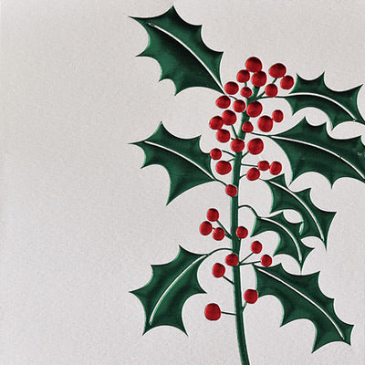 Christmas Holly - Blank