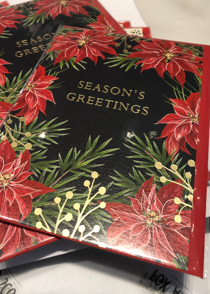 Seasons Greetings - Blank