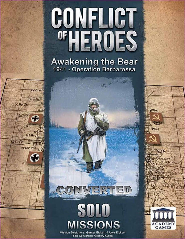 FREE! New Conflict of Heroes Solo Mission Book