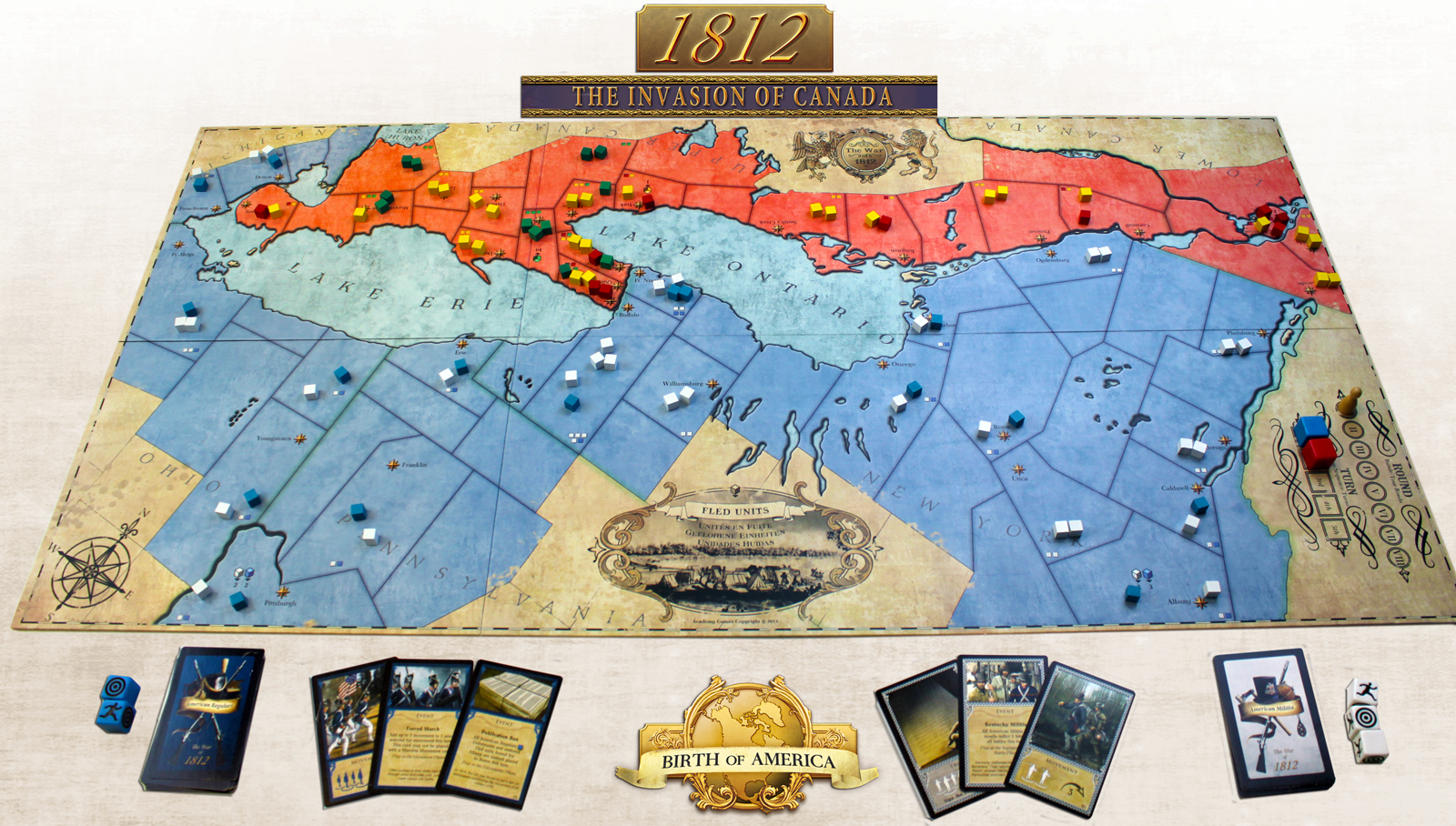1812 Invasion of Canada - Academy Games