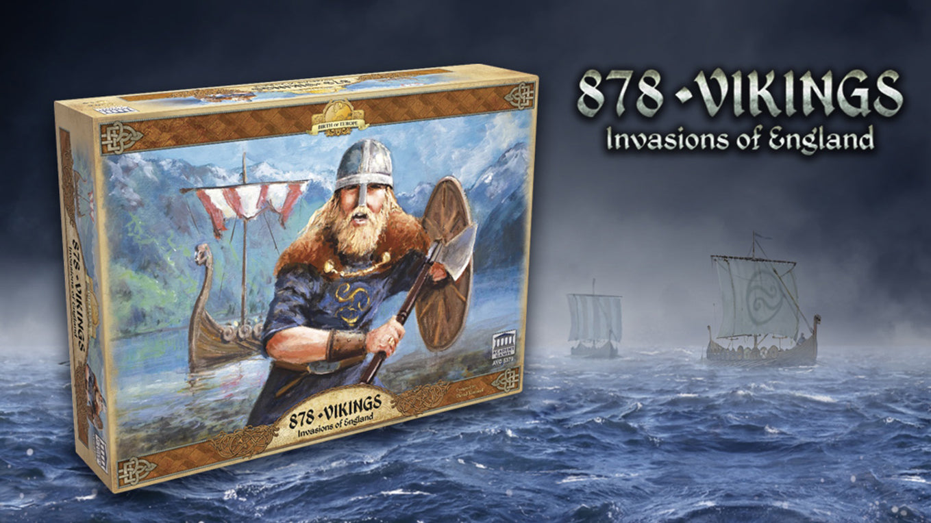 878 Vikings: Invasion of England (T.O.S.) -  Academy Games