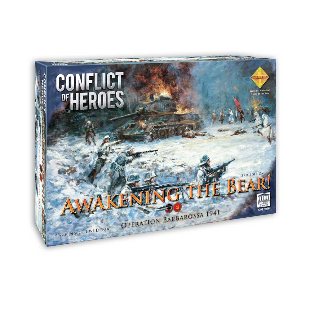 Awakening the Bear 1941 Operation Barbarossa: Conflict of Heroes 3rd Edition -  Academy Games