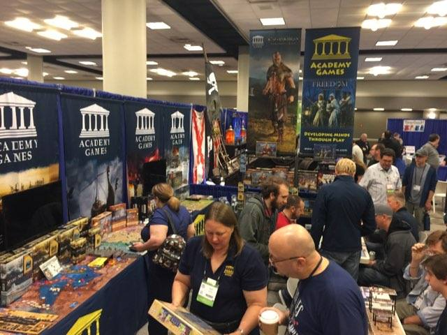 BGG Booth in action