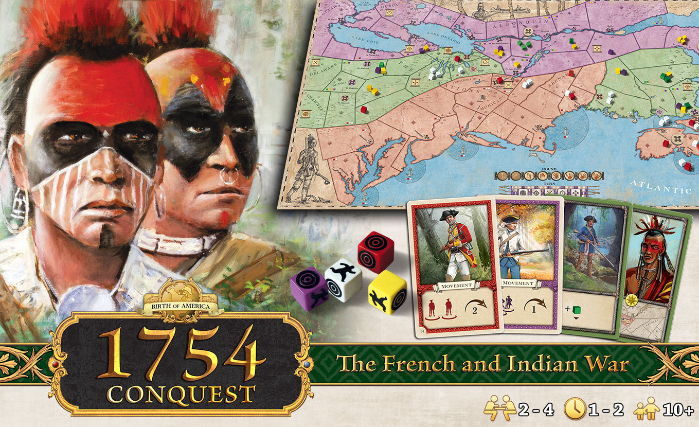 1754 Conquest - The French and Indian War (T.O.S.) -  Academy Games