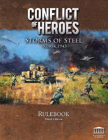 Storms of Steel 3rd Edition Rulebook