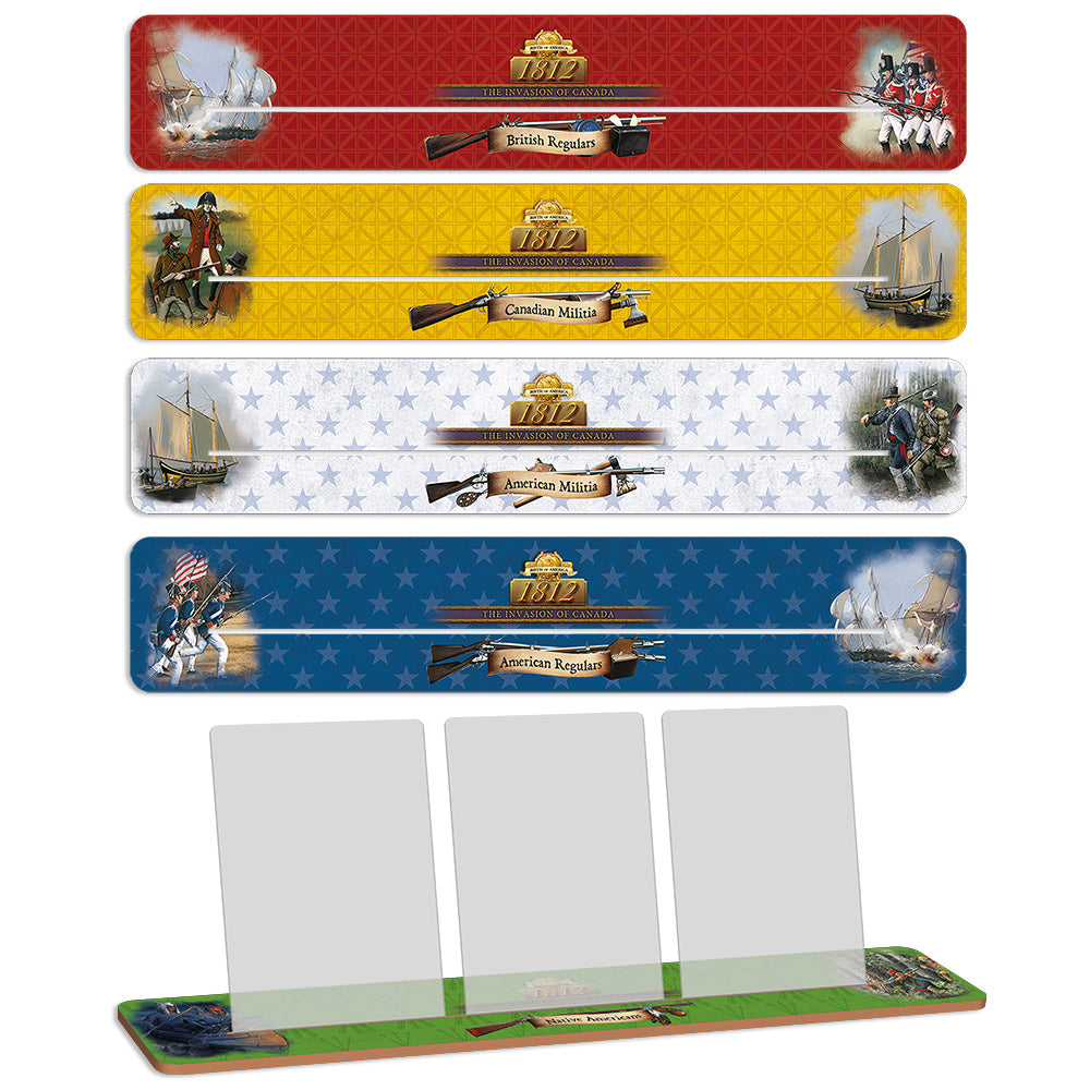 BoA: 1812 Wooden Card Holders Set - Germany