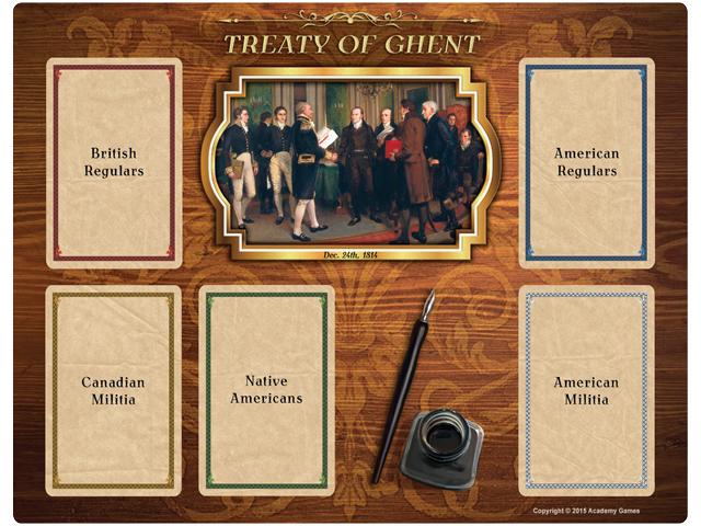 BoA: 1812 Treaty of Ghent Board