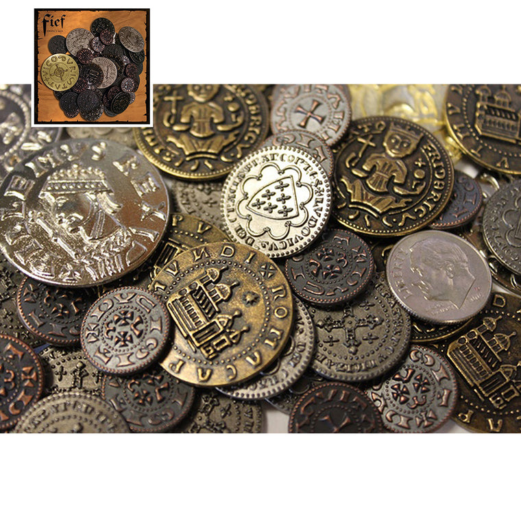 Fief Medieval Coin Set