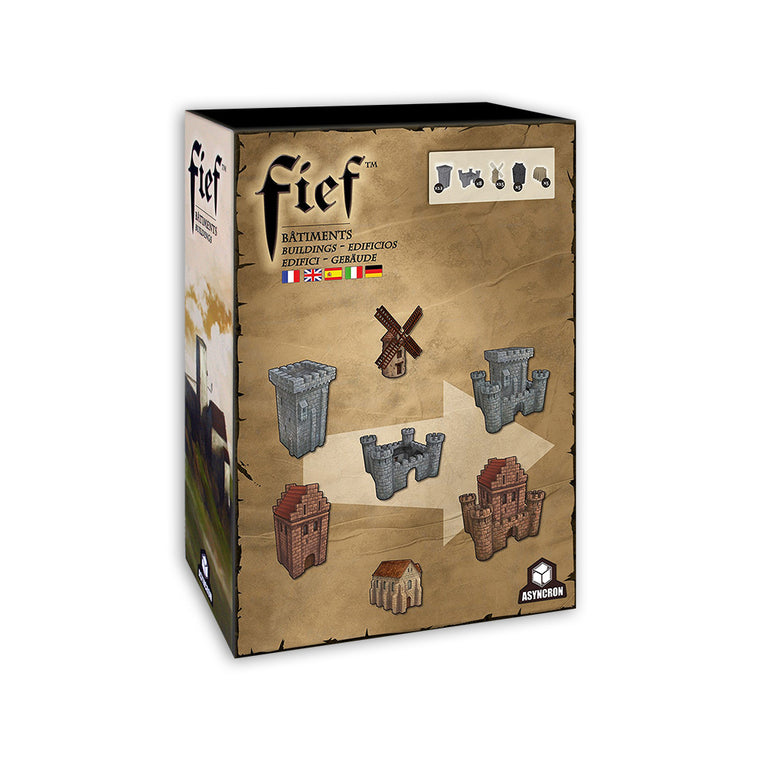 Fief Medieval Buildings Set