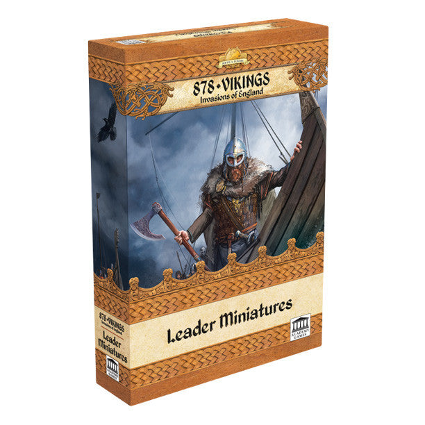 BoE: 878 Vikings Leader Miniatures