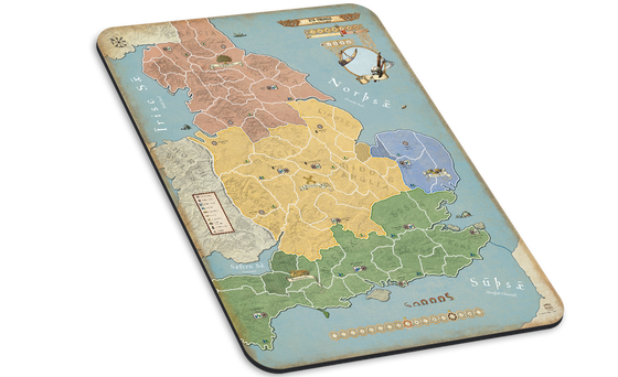 BoE: 878 Vikings Giant Map Mat - Germany
