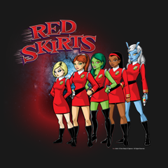 Red Skirts Security Team by Red Skirts + Al Sparrow + Dave Beaty