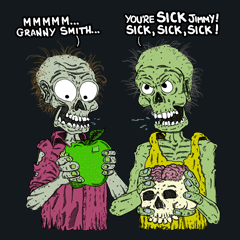 Vegan Zombies by Aaron Gardy