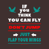 If You Think You Can Fly, Don't Jump by Melody Gardy