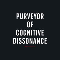 Purveyor Cognitive Dissonance by Melody Gardy