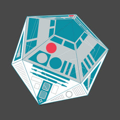 R2-D20 Star Wars Gaming Dice Mashup by Melody Gardy + House Of HaHa