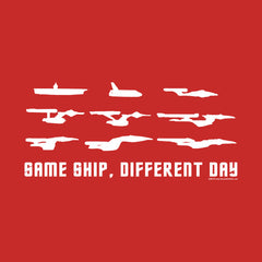 Same Ship Different Day Star Trek Homage by Aaron Gardy + House Of HaHa