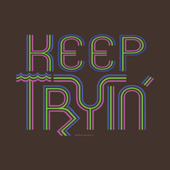 Keep Tryin' Triathlon Training Inspiration by Melody Gardy + House Of HaHa