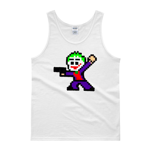 Joker Perler Art Men's Tank Top by Silva Linings + House Of HaHa Best Cool Funniest Funny T-Shirts