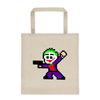 Joker Perler Art Tote Bag by Silva Linings + House Of HaHa Best Cool Funniest Funny Gifts