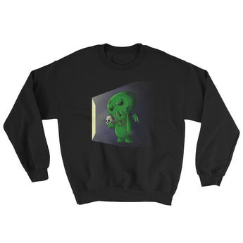 Midnight Snack Chibi Cthulhu Men's Sweatshirt + House Of HaHa Best Cool Funniest Funny Gifts