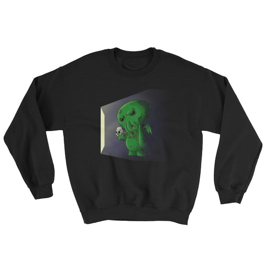 Midnight Snack Chibi Cthulhu Men's Sweatshirt + House Of HaHa Best Cool Funniest Funny T-Shirts