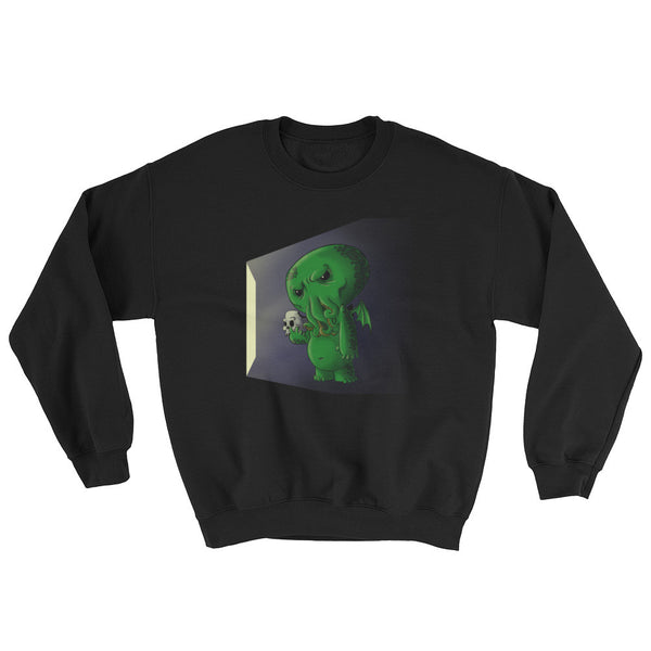 Midnight Snack Chibi Cthulhu Men's Sweatshirt + House Of HaHa