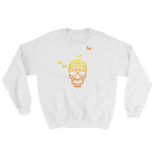 Butterfly Skull Mens' Sweatshirt + House Of HaHa Best Cool Funniest Funny T-Shirts