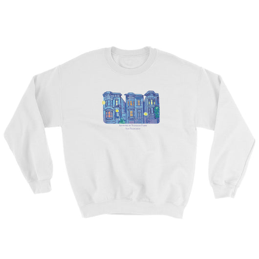 My Three Loves San Francisco Sweatshirt by Nathalie Fabri + House Of HaHa Best Cool Funniest Funny T-Shirts