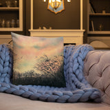 Sunset Silhouette Premium Decorative Throw Pillow + House Of HaHa Best Cool Funniest Funny Gifts