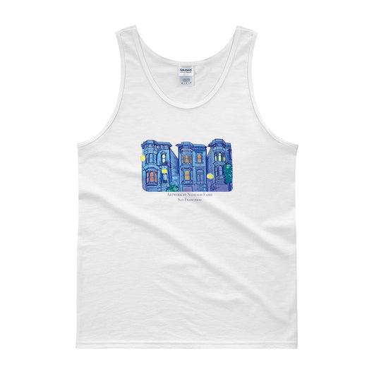 My Three Loves San Francisco Tank Top by Nathalie Fabri