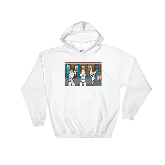 Troopers Shooting Gallery Parody Heavy Hooded Hoodie Sweatshirt + House Of HaHa