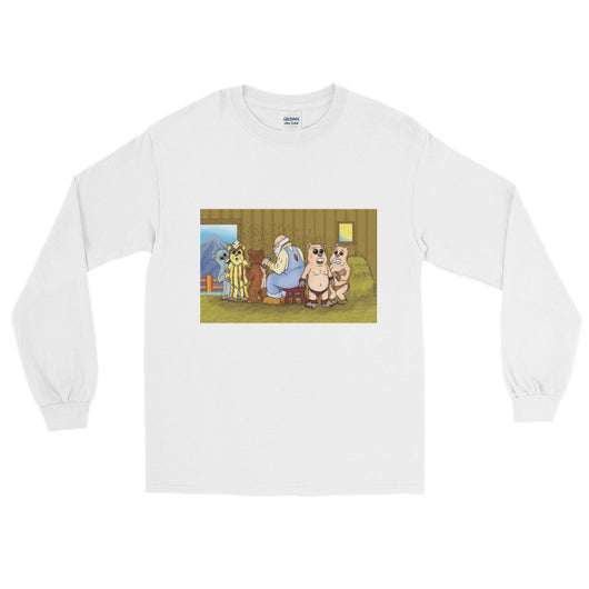 Shearing Day Men's Long Sleeve T-Shirt + House Of HaHa