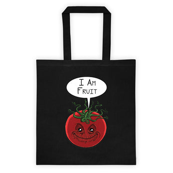 I am Fruit Tomato Guardians Groot Mashup Parody Tote Bag + House Of HaHa Best Cool Funniest Funny Gifts