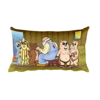 "Shearing Day 20""x12"" Rectangular Pillow + House Of HaHa Best Cool Funniest Funny Gifts"