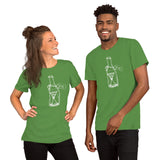 Time in a Bottle Unisex T-Shirt + House Of HaHa Best Cool Funniest Funny Gifts