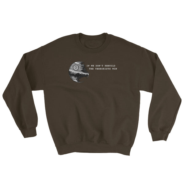 Anti-Terrorism Men's Star Wars Parody Sweatshirt + House Of HaHa