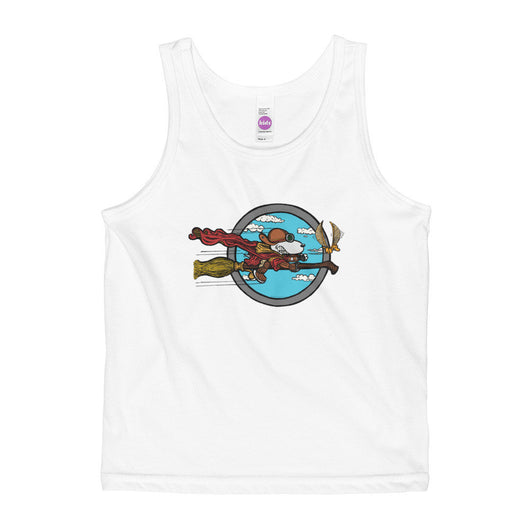 Wizard Flying Ace Kids' Tank Top + House Of HaHa