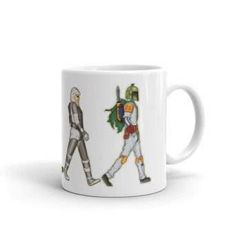 Bounty Road's Fab Four Beatles Star Wars Mash Up Parody Mug + House Of HaHa Best Cool Funniest Funny Gifts